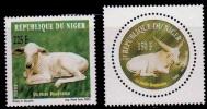 (017) Niger  Animals / Animaux / Tiere / Cattle / Rinder ** / Mnh   Michel 1989-90 - Niger (1960-...)
