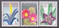 BELGIUM   619-21   *   FLOWERS - Belgium