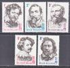 BELGIUM   623-7   *  FAMOUS  PAINTERS - Unused Stamps