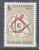 BELGIUM   671   *   SCIENCE   CHEMISTRY - Unused Stamps