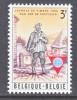 BELGIUM   673   *   STAMP  DAY - Unused Stamps