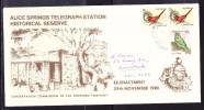 Australia 1980 Alice Springs Telegraph Station Pictorial  Cancellation Cover  - Unaddressed - 1980-89 Elizabeth II