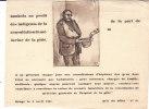 Tombola Au Profit Des Indigents De La Consultation De Médecine De La Pitié - Documentos Antiguos