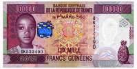 GUINEA 10000 FRANCS 2012 Pick 46 Unc - Guinea
