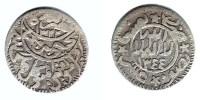 YEMEN, Yahya - 1/20 Riyal AH 1344 (1926) - Y#4.1 VF+ - Yemen