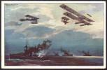 1043 - Alte Ansichtskarte - Hans Rudolf Schulze Deutscher Luftflotten Verein 1 WK N. Gel - Schulze, Hans Rudolf