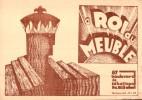 LE ROI DU MEUBLE 87 BOULEVARD SEBASTOPOL PARIS - Pubblicitari