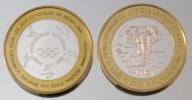 Bénin 6000 CFA 2005 JO Monnaie Bimétallique Précieuse Animal - Benin