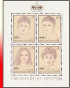 Liechtenstein BL 022**  Enfants Du Couple Princier  MNH