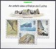 Tristan Da Cunha 1980 Stoltenhoff Island / An Artist's View Of Tristan Da Cunha M/s ** Mnh (25548) - Tristan Da Cunha