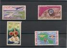 POLYNÉSIE  Années 1960/64 P.A.  N° Y/T :5/8** - Airmail