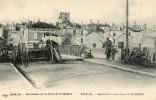 BARRICADE SUR LE FRONT DE NOMENY -54- 1914-15 - Nomeny