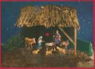 Maxi-Schallplatten-AK Weihnachten ~ Um 1965 - Ansichtskarten