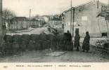 UNE BARRICADE A NOMENY -54- 1914-15 - Nomeny