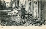 1914-15- UNE TOMBE DANS UNE RUE DE NOMENY -54- 24 DECEMBRE 1914 - Nomeny