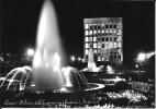 Roma- Pallazzo Dell'Esposizione E Fontana - Notturno - Con Insegna Pubblicitaria Gancia - - Roma