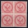 Colonies Fr.: Yv Nr  6 Bloc De 4, Has Some Spots  RR - Águila Imperial