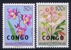 Congo Mi Nr 27 - 28 MNH/** Sans Charnière  Postfrisch - République Du Congo (1960-64)