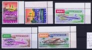 Guinee Mi Nr 49 - 53  MNH/** Sans Charnière  Postfrisch 1960