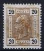 Osterreich Mi Nr 111 MH/*, Avec  Charnière , Mit Falz, - Unused Stamps