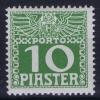 Osterreich Levant Mi Nr 12 Y  MH/*, Avec  Charnière , Mit Falz, - Portomarken