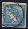 Osterrech: Mi Nr 61 Y Used / Obl. Geripptes Papier Signed/ Signé/signiert Diena - 1850-1918 Imperium