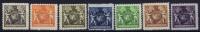 LIECHTENSTEIN: Mi  46B - 52B  MNH/** Sans Charnière  Postfrisch - Unused Stamps