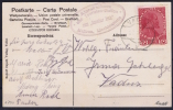LIECHTENSTEIN: 1918 Scarce MALBUN Boxed In Violet +Postmark VADUZ  Mi 6  Bruno Rapp Certificate RRR