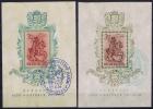 HUNGARY: Block Nr 5 + 6 1939 Used