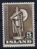 Island: Mi Nr 230 MNH/** Sans Charnière  Postfrisch 1943 - 1918-1944 Unabhängige Verwaltung