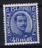 Island: Mi Nr 103 MNH/** Sans Charnière  Postfrisch 1921 - 1918-1944 Autonoom Bestuur