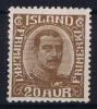 Island: Mi Nr 101 MH/* Avec Charnière  Falz - 1918-1944 Unabhängige Verwaltung