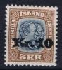 Island: Mi Nr 141 MH/* Avec Charnière  Falz  Fa 107 - 1918-1944 Unabhängige Verwaltung
