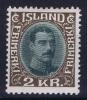 Island: Mi Nr 166 MH/* Avec Charnière  Falz  Fa 156 - 1918-1944 Autonoom Bestuur
