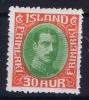 Island: Mi Nr 163 MH/* Avec Charnière  Falz - 1918-1944 Unabhängige Verwaltung