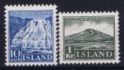 Island: Mi Nr 181 - 182, MH/*,avec  Charnière , Mit Falz - 1918-1944 Unabhängige Verwaltung