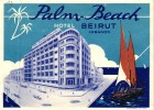 13 HOTEL Labels ALGERIE Philippeville Constantine Oran MOROCCO Casablanca Marrakech Tehran LIBANON - Hotelaufkleber