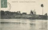 CHARETTE.  Derrière La Chapelle Et Le Doubs  (en L'état) - France