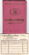 Romania, 1970, Vehicle Driving License / Permit And Penalty Ticket - Documenti Storici