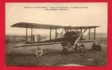 """CPA: Indre - Chateauroux - Aviation - Camp De La Martinerie - 3° Régiment De Chasse - Avion De Chasse """"Nieuport"""" - Chateauroux"""
