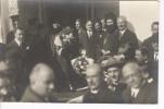 Photo Inauguration école De Réfugiés à Byron Athènes, Ministre Spiridès, Archevêque . Par Charles Poulides Athènes 1924 - Identified Persons
