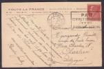 France Type Pasteur Sur Lettre - 1922-26 Pasteur