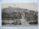 LYON:Pont La Feuillée.Quartier St Paul Et Coteau De Fourvière.(Cachet Régiment D'Infanterie) - Autres