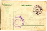 WWI K.u.k. Gebiergsartillerieregiment Nr. 2 Feldpostamt 364 Feldpostkarte Travelled 1917 Bb151015 - Militaria