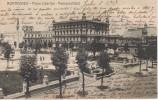 POSTAL DE MONTEVIDEO - PLAZA LIBERTAD - MUNICIPALIDAD DEL AÑO 1917 (A. CARLUCCIO) URUGUAY - Uruguay