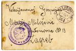 WWI K.u.k. Gebiergsartillerieregiment 2 Gbrgshaubitzbatterie 1 FP 364 Letter With Photo Travelled 1916 Bb151015 - Militaria