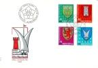 FDC Pro Juventute 1981 No. 277 à 280 Oblitéré Du 1er Jour - Lettres & Documents