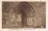 15200. Postal MONCRABEAU (Lot Et Garonne). Porte De Eglise XIII Siecle - Francia