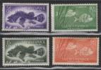 SAHARA ESPAGNOL - 1953 - *  -Y&T 108-111 - Stamp Day - 2.5€ - Spanish Sahara