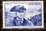 Andorre 137 Viguier Neuf Avec Trace De Charnière  * TB MH Con Charnela Cote 21.5 - Französisch Andorra